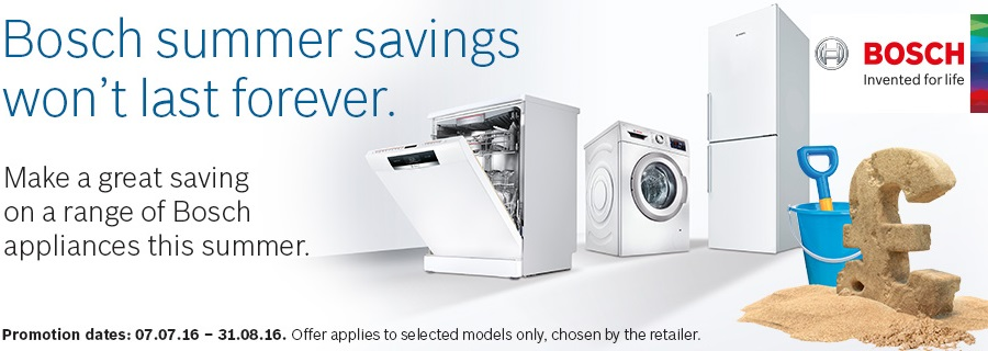 bosch summers savings up to £150