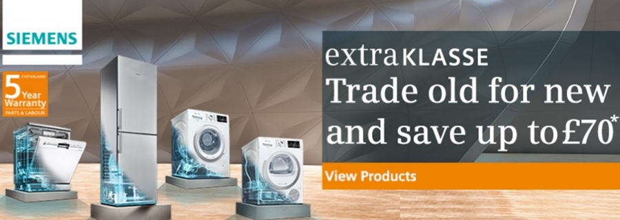Siemens Trade In Save up to £70