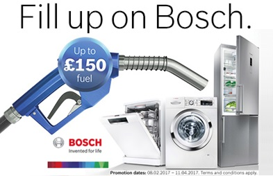 Bosch Fill Up Promotion up to £150