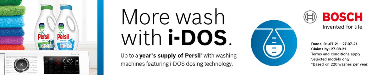 Bosch Laundry Detergent Promotion