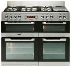 Leisure CS110F722X Cuisinemaster Stainless Steel Dual Fuel Range Cooker - CS110F722X