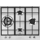 Smeg PX364L Classic 60cm Stainless Steel Gas Hob