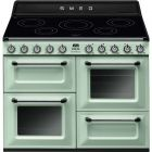 Smeg TR4110IPG 110cm Electric Range Cooker In Pastel Green