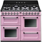 Smeg TR4110RO Pink Dual Fuel Range Cooker