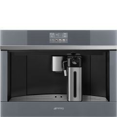 Smeg CMS4104N Linea Black Built In Fully Automatic Coffee Machine