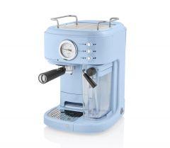 Swan SK22150BLN Blue Retro Style Espresso Machine