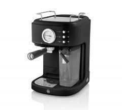 Swan SK22150BN Black Retro Coffee Machine