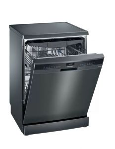 Siemens SN23EC14CG Black Freestanding Dishwasher