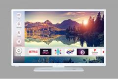 "Mitchell & Brown JB-241811FSMWHT 24"" White Smart TV"