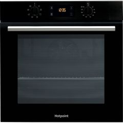 Hotpoint SA2540HBL Black Built In Single Oven