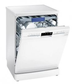 Siemens SN25ZW49CE White Full Size Dishwasher