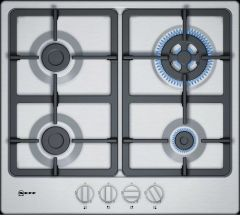 Neff T26BB59N0 Stainless Steel Gas Hob