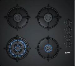 Neff T26CR51S0 Black 60cm Gas Hob