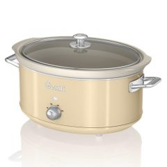 Swan Retro SF17031CN Slow Cooker In Cream