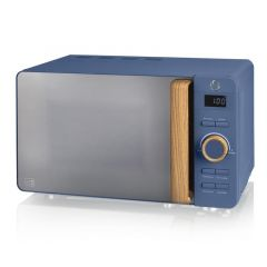 Swan Nordic SM22036GRYN Slate Grey Solo Microwave