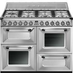 Smeg TR4110X 110cm Dual Fuel Range Cooker