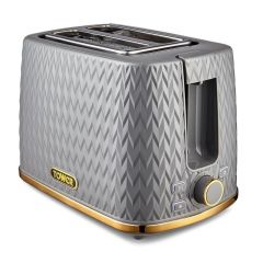 Tower T20054GRY Grey 2 Slot Toaster