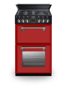Stoves 550DFW Red MiniRange Cooker