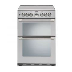Stoves 600DF Stainless Steel Dual Fuel Cooker