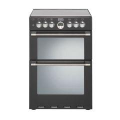 Stoves 600DF Black 60cm Dual Fuel Cooker