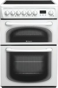 Hotpoint 60HEPS Polar White 60cm Electric Cooker