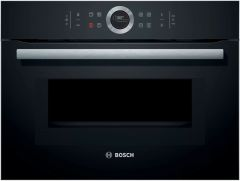Bosch CMG633BB1B Cuilt In Compact Oven & Microwave
