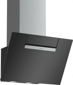 Bosch DWK67EM60B Black 60cm Angled Cooker Hood
