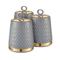 Tower T826091GRY Grey Kitchen Canisters