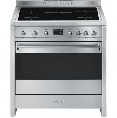 Smeg A1PYID-9 Opera 90cm Range Cooker With Induction Hob