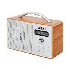 Akai A61018 Oak DAB Radio