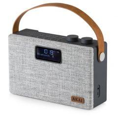 Akai A61029 Grey Bluetooth DAB+ Radio
