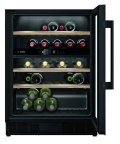 Bosch KUW21AHG0G Built In Wine Cooler In Black