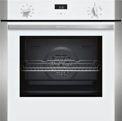 Neff B1ACE4HW0B White Multifunction Built-in Single Oven