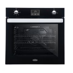 Belling BI602FPCT Black Single Built-in Oven