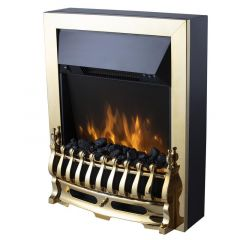 Warmlite WL45049 Brass Electric Fire Inset