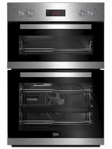 Beko CDF22309X Built-In Double Oven, Stainless Steel