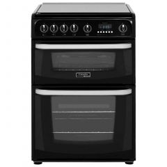 Cannon CH60GCIK Carrick Gas Cooker In Black