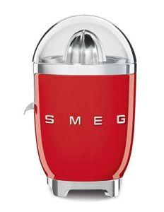 Smeg CJF01RDUK Red 50's Style Retro Citrus Juicer