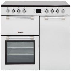 Leisure CK90C230Scm Electric Range Cooker, Silver