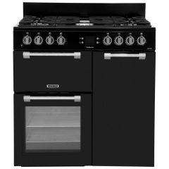 Leisure Cookmaster 90cm Black Dual Fuel Range Cooker - CK90F232K
