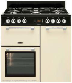 Leisure Cookmaster 90cm Gas Range Cooker, Cream - CK90G232C