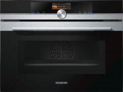 Siemens CM676GBS6B - iQ700 Compact Microwave Oven