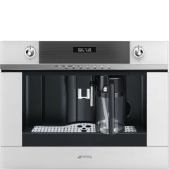 Smeg Linea CMS4101B Built-in Coffee Machine In White