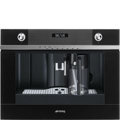 Smeg Linea CMS4101N Built-in Coffee Machine In Black