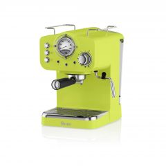 Swan SK22110LN Lime Retro Style Espresso Coffee Machine