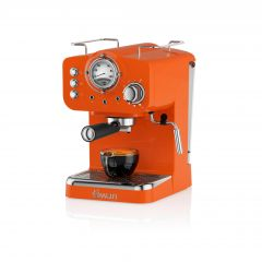 Swan SK22110ON Orange Retro Espresso Coffee Machine