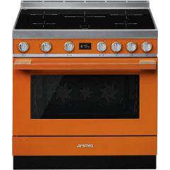 Smeg CPF9IPOR Orange 90cm Electric Range Cooker