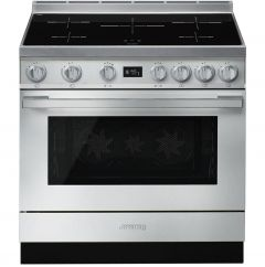 Smeg CPF9IPX Stainless Steel Electric Range Cooker