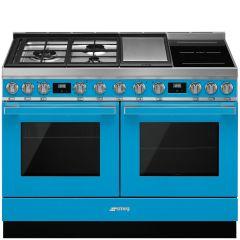 Smeg CPF120IGMPT Turquoise Range Cooker