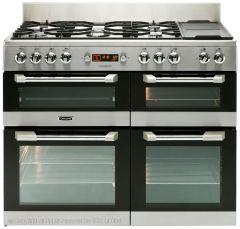 Leisure CS110F722X Cuisinemaster Stainless Steel Dual Fuel Range Cooker - CS110F722X